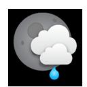 Überwiegend bewölkt, leichter Regen