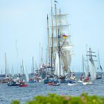 Windjammerparade zur Kieler Woche © Landeshauptstadt Kiel - Bodo Quante